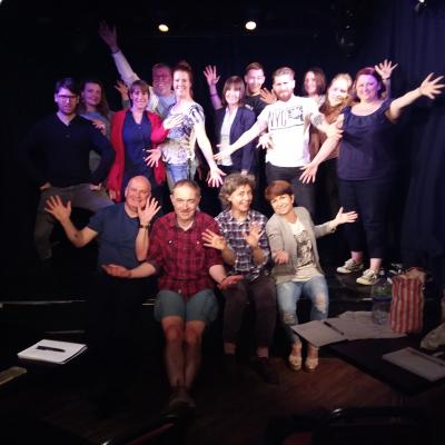 A Big Fun Little Stand-Up Show in Brighton Komedia's Studio Bar...