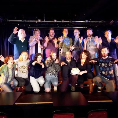 Jill's New Comedy Fledglings take their First Flights at Brighton's Komedia...