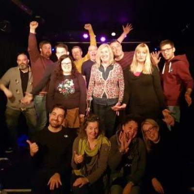 Jill's Komedia Brighton Weekend Comedy Course Beats the January Blues...