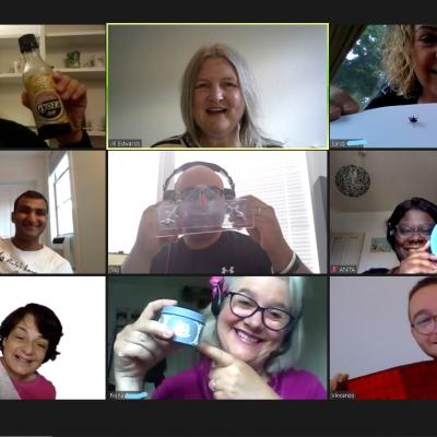 Fun and Games with Fabulous Folk on Jill's Online Weekend Comedy Course...