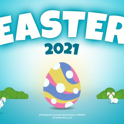 Happy Easter from all at Jill Edwards Comedy Workshops......