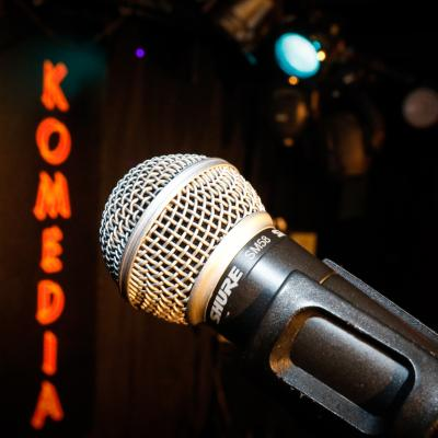 Announcing the Komedia New Comedy Award in association with Comic Boom Comedy Club...