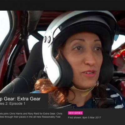 Graduate Shazia Mirza is a Top Gear Star in a Reasonably Fast Car...
