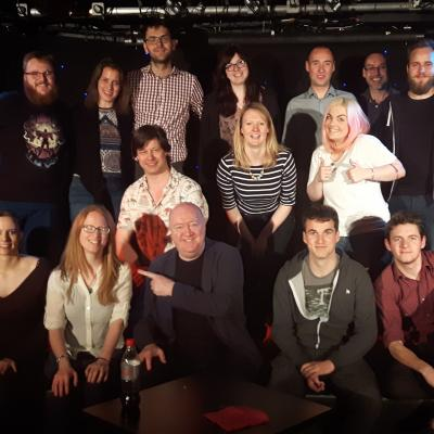 The Flight of the Spring 2016 Comedy Course Fledglings...