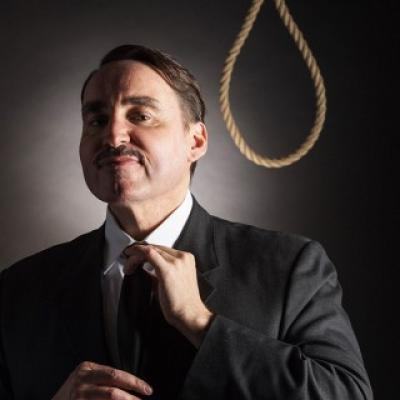 Graduate Toby Whithouse is Executioner Number One at London's Soho Theatre...