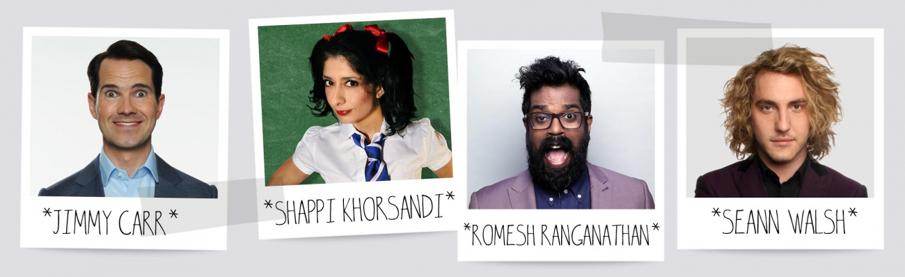 Jimmy Carr, Shazia Mirza, Romesh Ranganathan, Seann Walsh. Jill has trained some of the UK's top comedians.