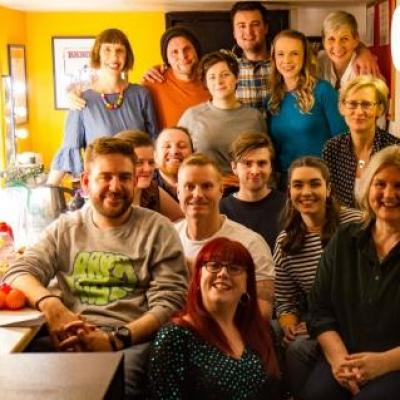 Jill's Komedia Brighton Comedy Course Fledglings Fly the Comedy Nest...